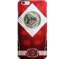 RedRanger 5 iPhone Case/Skin
