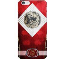 RedRanger 5 iPhone Case/Skin