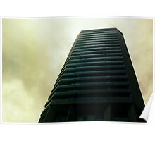 Big City Skyline........the pastel set  # two Poster