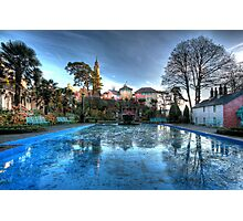 Icy Portmeirion Photographic Print