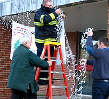 Stringing the Lights by Rebecca Bryson