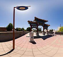 Chinese Gateway - Full 360° Panorama by Marcus Mawby