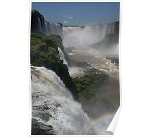 Yguazu Waterfalls - DEVIL´S THROAT Poster
