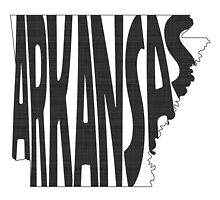 Arkansas State Word Art by surgedesigns