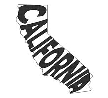 California State Word Art by surgedesigns