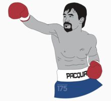 Manny Pacquiao - Digital Drawing 2 Kids Clothes