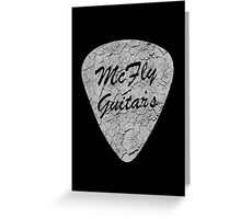 McFly Guitar's Greeting Card