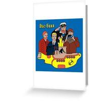 Das Yellow Boot Greeting Card
