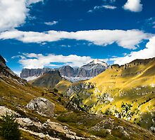 dolomite alps by peterwey