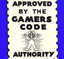Gamers Code Authority by joefixit2