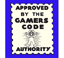 Gamers Code Authority Photographic Print
