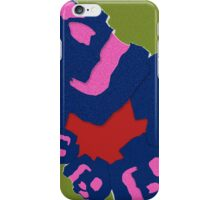 Laughing skull cycle. iPhone Case/Skin