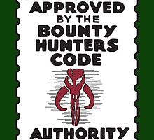 Bounty Hunters Code Authority by joefixit2
