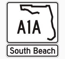 A1A - South Beach by IntWanderer
