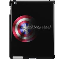 Defining A Soldier iPad Case/Skin