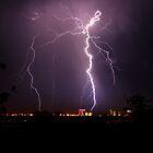 Lightning strike by rossandcher