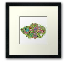 happiest place on earth, CA  Framed Print