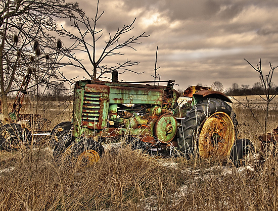 Old John Deere by Kate Adams