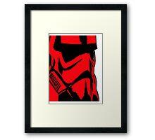 Storm the Trooper Framed Print
