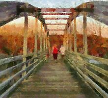 Tassee Bridge by Jean Gregory  Evans