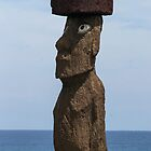 Mysterious Moai by Marylou Badeaux