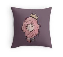 Little Crown Throw Pillow
