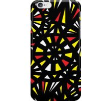 Bayona Abstract Expression Yellow Red iPhone Case/Skin