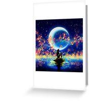 Mermaid Lantern Greeting Card