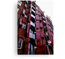 Flats of Amsterdam Canvas Print