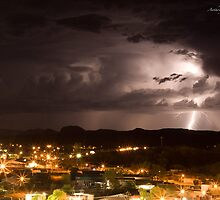 Alice Springs, Lighting Strikes by Anthony  Ket