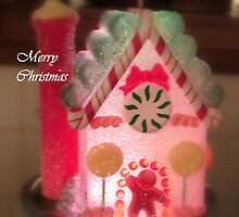 Gingerbread House, Aglow by Nanagahma