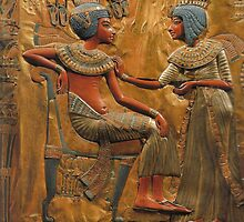 Ancient Egyptian Husband & Wife by Melissa  Harris