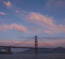 Golden Gate Bridge by peter