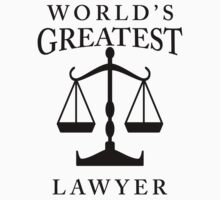 World's Greatest Lawyer Kids Clothes