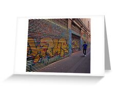 Along the alley Greeting Card