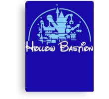 Kingdom Hearts Hollow Bastion Canvas Print