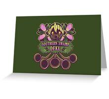 Southern Swamp Deku - Majora's Mask Greeting Card