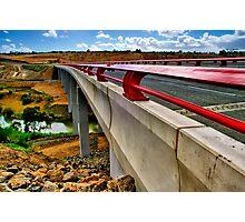 """Bridge on the River Moorabool"" Photographic Print"