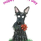 Scottie Dog 'Happy Mothers Day' by archyscottie