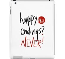 Happy endings?  iPad Case/Skin