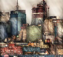New York Sky Scrapers by Mike  Savad