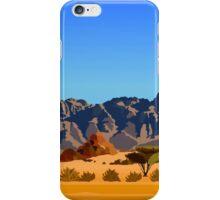 Mountain Desert  iPhone Case/Skin