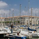 Rochefort Marina, Brittany, France #3 by Elaine Teague