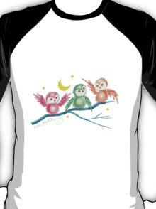 We Three Owls (T-Shirt) T-Shirt