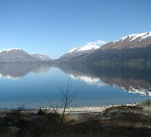 Reflections on Wakatipu NZ by Karen Doidge