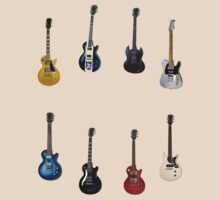 Gibson Les Paul Guitar Medley by eyevoodoo
