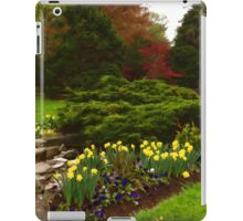 New Leaves and Flowers - Impressions Of Spring iPad Case/Skin