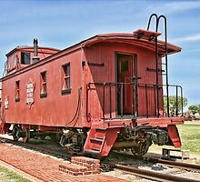 Oklahoma's CO&G Railroad Co. by Patricia Montgomery