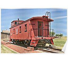 Oklahoma's CO&G Railroad Co. Poster