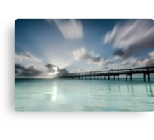 The Long Jetty - Gold Coast Qld Australia Canvas Print